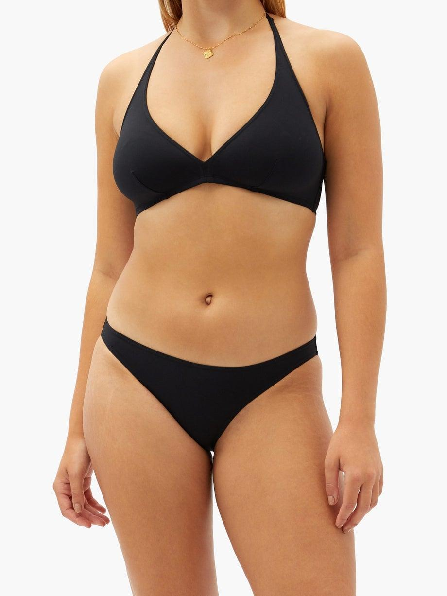<p>If you're looking for a classic black bikini, this <span>Eres Gang Halterneck Bikini</span> ($355) is one you'll have for years and years. The quality is unmatched.</p>