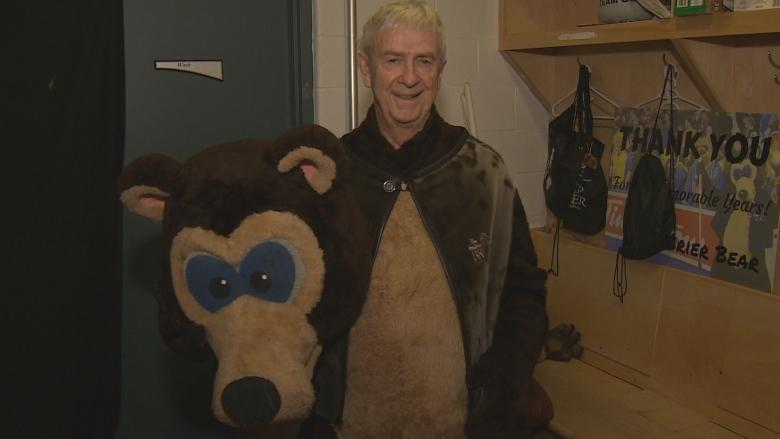 After 37 years as Brier Bear, Reg Caughie to retire in front of hometown crowd