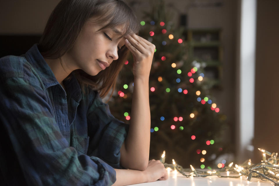 Christmas can trigger mental health issues - even PTSD.