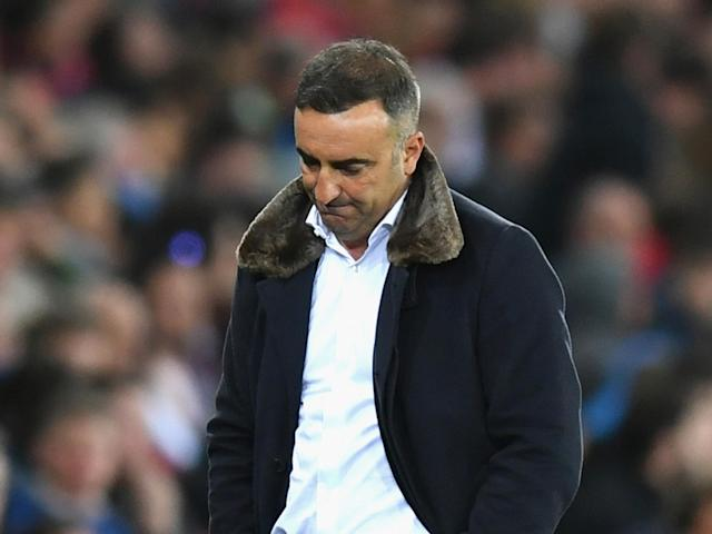 Carlos Carvalhal will leave Swansea City at the end of the season after relegation
