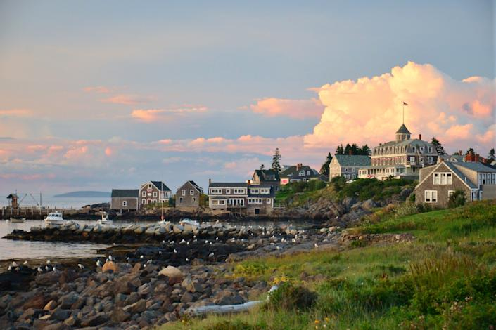 """<h1 class=""""title"""">The dock area of Monhegan Island</h1><cite class=""""credit"""">Photo: Getty Images</cite>"""