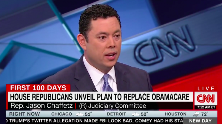 The Best Late Night Jokes About Jason Chaffetz S Health Care Vs