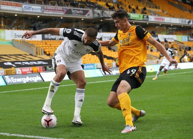 Kilman made his first appearance of the season in the home Premier League win against Fulham earlier this month