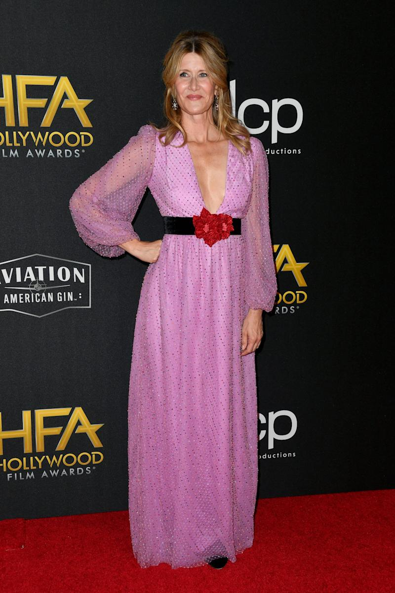 Laura Dern at the 23rd annual Hollywood Film Awards in Beverly Hills, California, on Nov. 3.