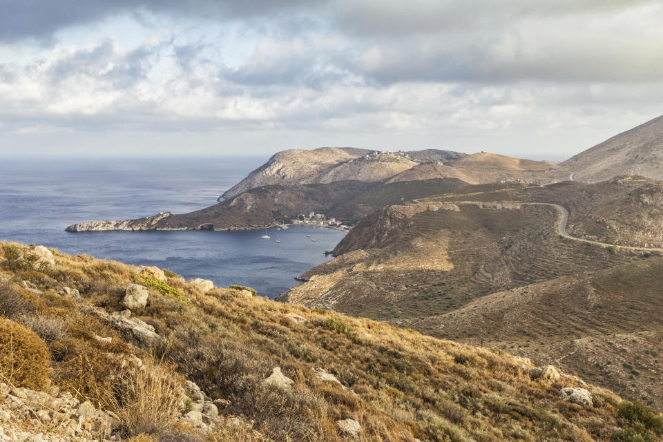 "This mountain region boasts ancient sites and some of Greece's finest beaches. <a href=""https://www.i-escape.com/elies-hotel"" rel=""nofollow noopener"" target=""_blank"" data-ylk=""slk:Elies"" class=""link rapid-noclick-resp""><strong>Elies</strong></a> is a cluster of stylish stone cottages, sleeping between two and five persons, where you can stay for prices starting from £94 a night. <em>[Photo: Getty]</em>"