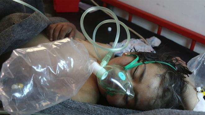 Dozens killed in 'chemical weapons attack' in Syria