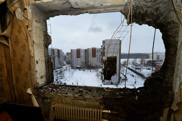 Eastern Ukraine has been wracked by bloodshed for more than three years