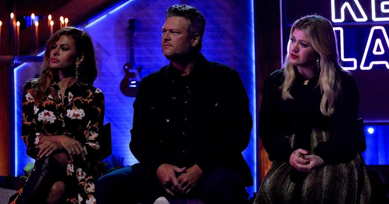 Kelly Clarkson and Blake Shelton Moved to Tears Watching Craig Morgan Perform Song About Late Son