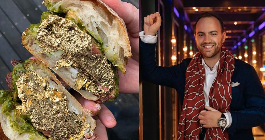 A new luxury sandwich brand has launched by chef Andrea Zagatti. (Images Mr Z)