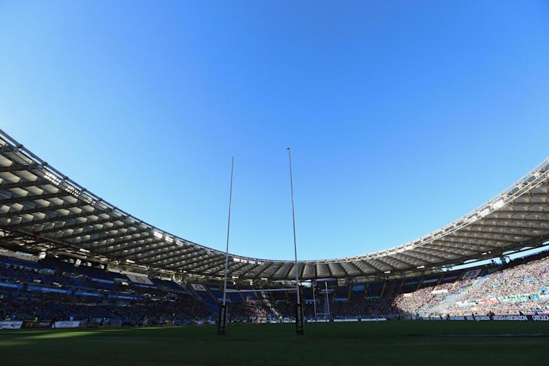 England are due to finish their Six Nations campaign against Italy at the Stadio Olimpico on March 14 (Getty Images)