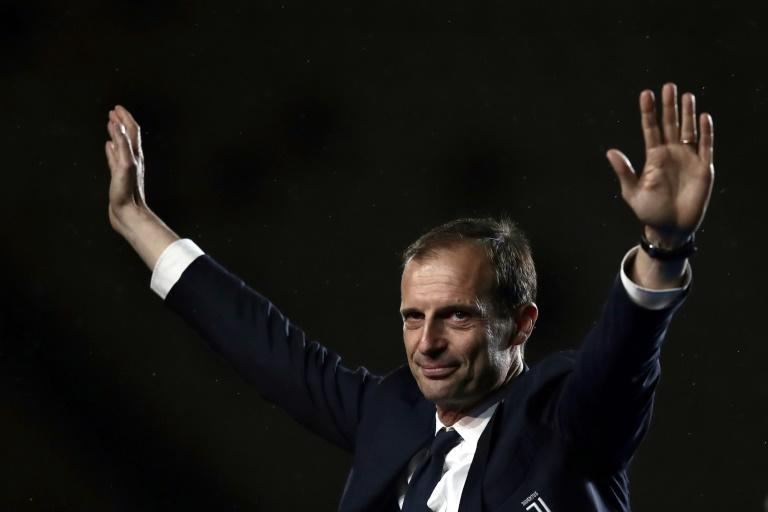 Allegri took Juve to five Serie A titles