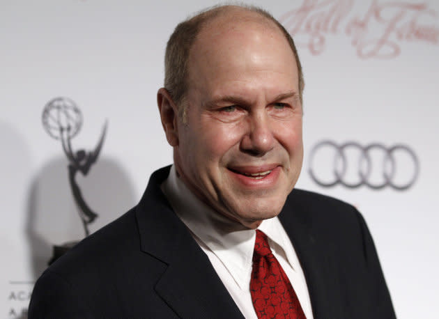Michael Eisner arrives at the Academy of Television Arts & Sciences 21st annual Hall of Fame Gala in Beverly Hills on March 1, 2012.