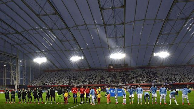 <p>The Forsyth Barr Stadium in Dunedin, New Zealand, has a glass ceiling, meaning players have to worry about where the ball will ricochet after hitting the roof.</p> <br><p>The ground can hold just over 30,000 for football matches and also stages concerts and rodeo events.</p> <br><p>Southern United play at the stadium, which cost just under $200m to be constructed before it was opened in 2011.</p>