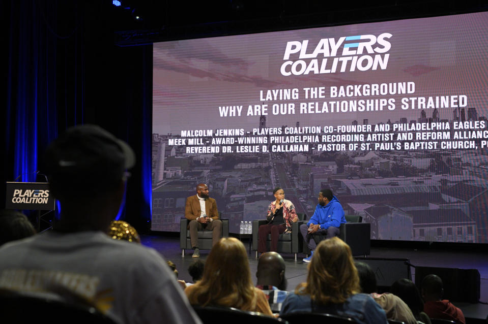 The NFL-financed Players Coalition has created real change. (Bastiaan Slabbers/NurPhoto/Getty Images)
