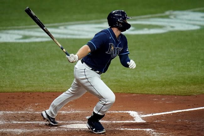 Rays start all-left-handed lineup and beat Red Sox 11-1