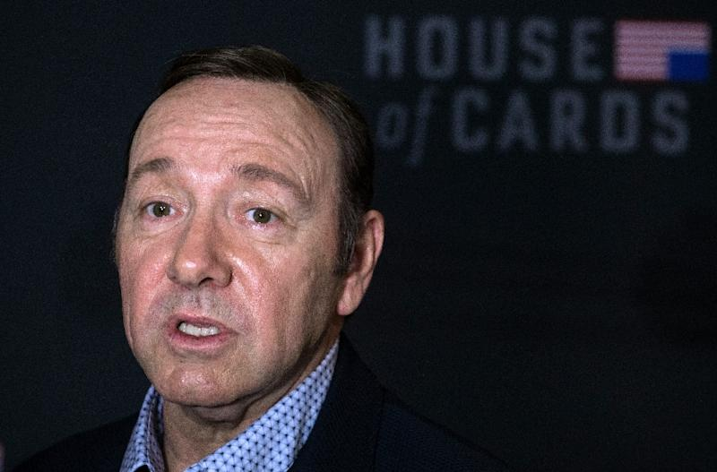 """House of Cards"" star Kevin Spacey has been booted from the show amid spiralling allegations of sexual misconduct (AFP Photo/Nicholas Kamm)"
