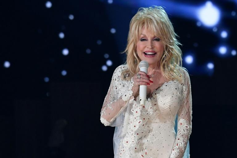 Singer Dolly Parton, pictured in February 2019, has remained relentlessly busy and is up for a Grammy Award -- her 50th nomination