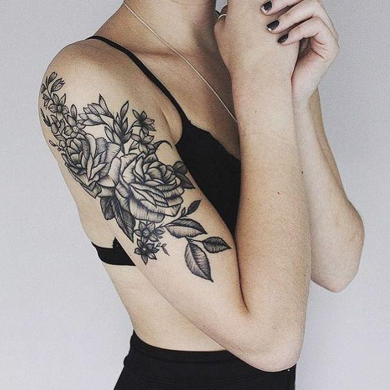 """<p>This half sleeve is simply stunning and just completely Instagrammable.<i><a href=""""https://uk.pinterest.com/pin/533254412107127625/""""> [Photo: Pinterest]</a></i><br /></p>"""