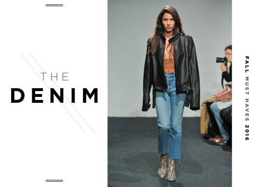 <p>The jean this fall has been the jean since last season so if you took our advice and invested in a pair from Vetements then hurrah! If you didn't, time to get the credit card out!</p>