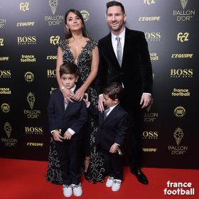 Watch: Mateo Messi steals the show at Ballon D'Or awards ceremony
