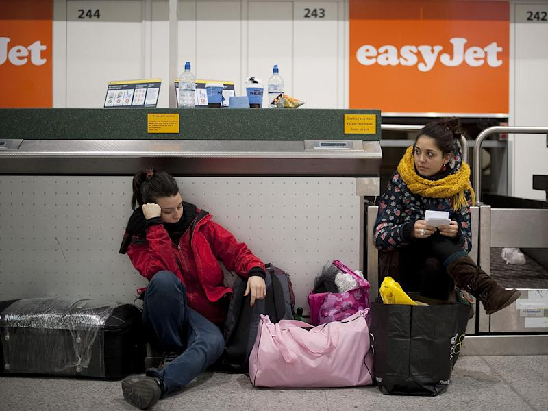 It could be argued that easyJet adores our flakiness and poor timekeeping: Getty