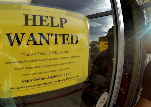 American business leaders have been complaining about a lack of quality labor for years as job openings have soared to a record high. REUTERS/Mike Blake