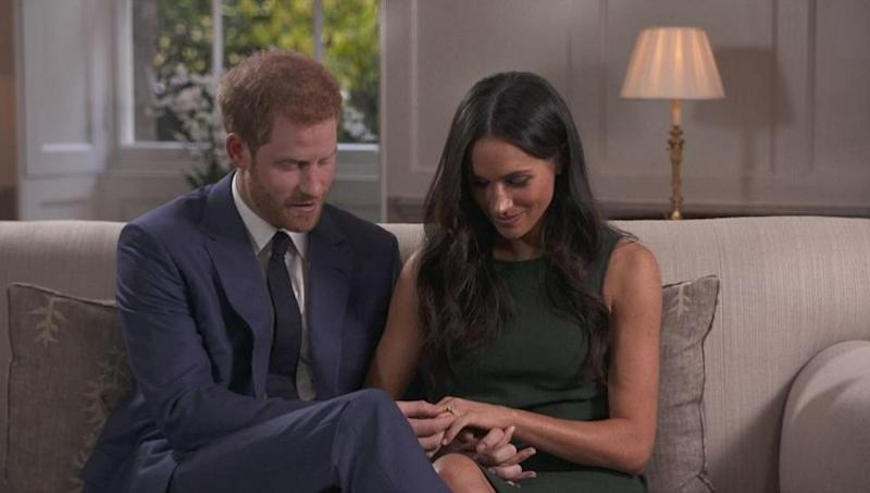 They told the BBC that the proposal took place on a quiet night in Kensington Palace. Photo: BBC