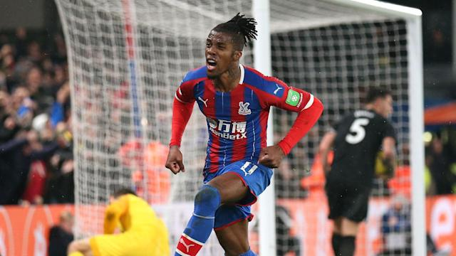Wilfried Zaha continues to be linked with moves away from Crystal Palace, who, Roy Hodgson says, are not actively looking for a sale.