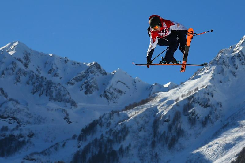 Medal hope: James Woods wil hope to strike gold in freestyle skiing: Getty Images