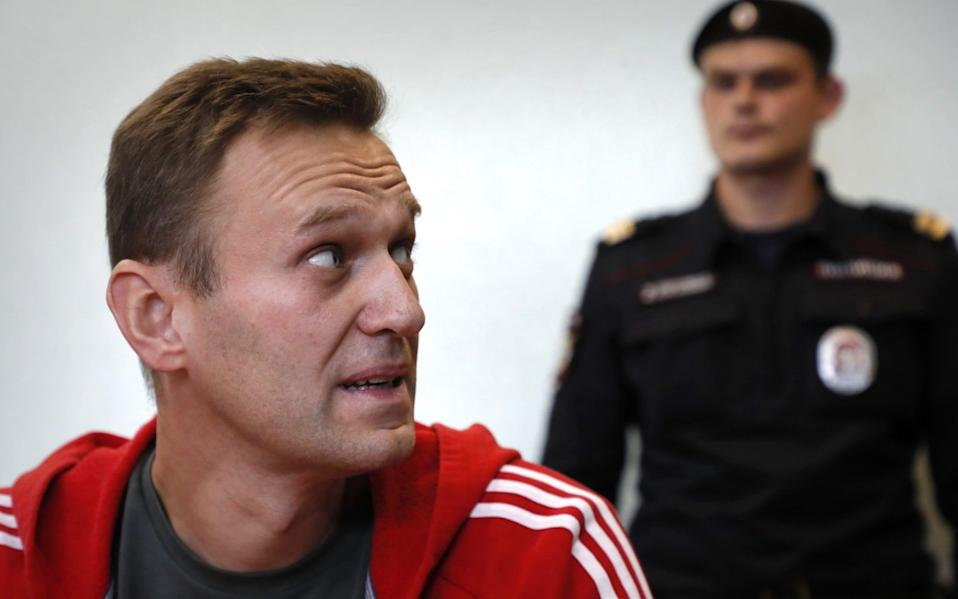 Alexei Navalny had to be airlifted to Germany after falling severely ill  - Shutterstock/Shutterstock