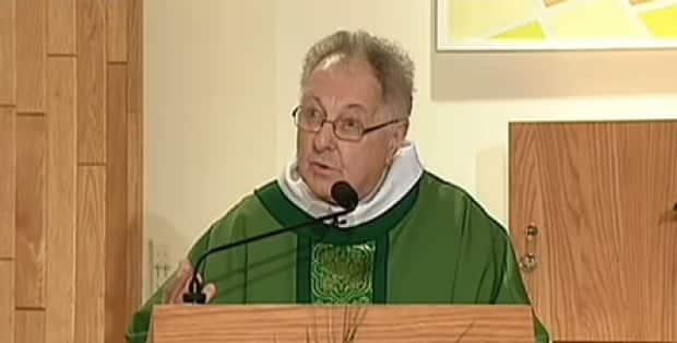 Father Paul Breau was chaplain at the University of Moncton for almost a decade.  (CBC - image credit)