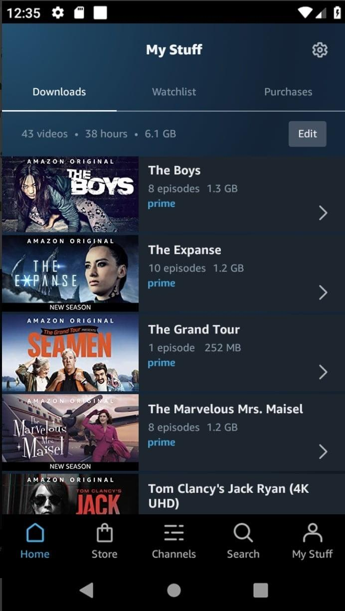 best android apps amazon prime video android2