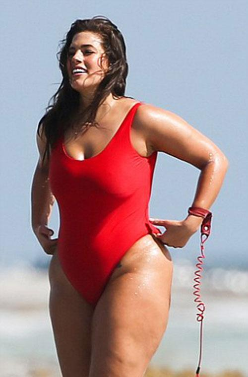 The 28-year-old model shows off her curves in a Baywatch photoshoot in Miami, Florida back in March. Work it, girl!