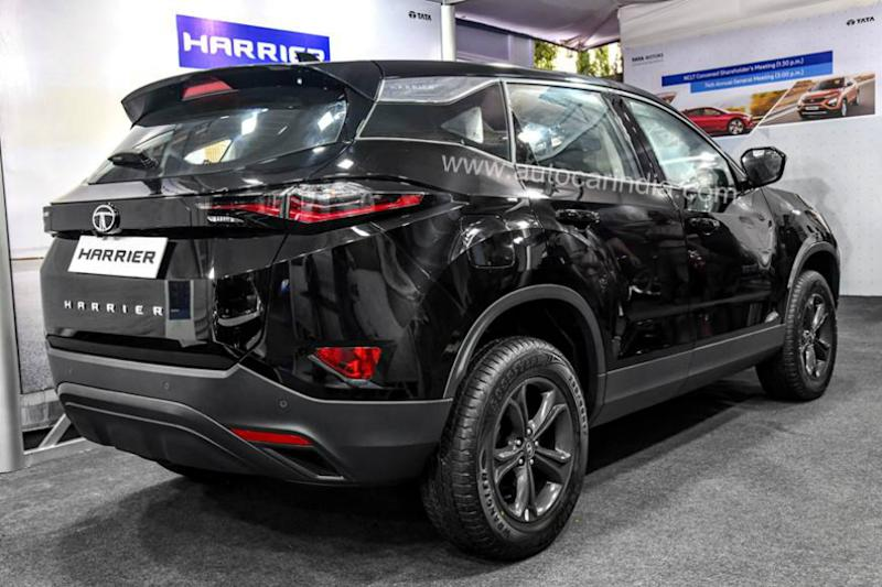 Tata Harrier All-Black edition. (Image source: Autocar India)