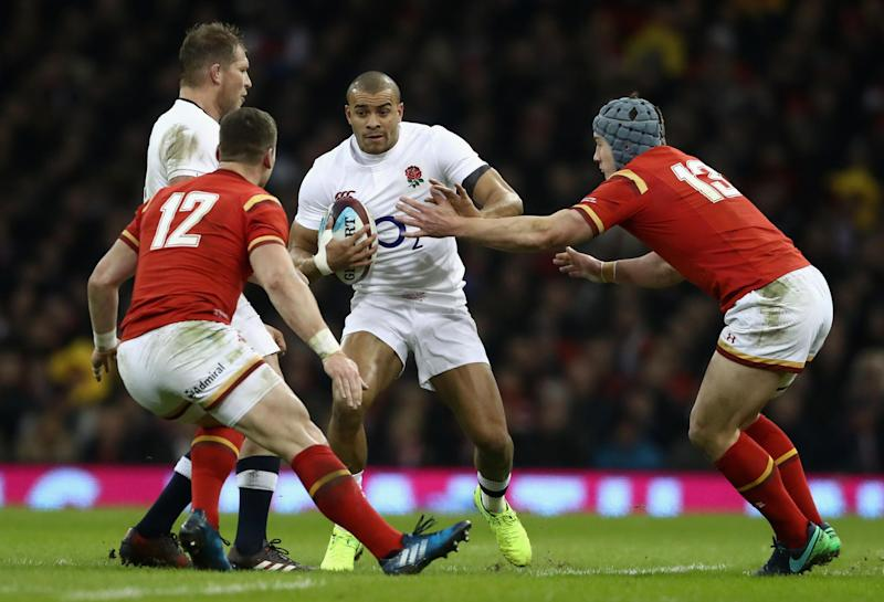 Impressing | Jonathan Joseph in action for England against Wales at Six Nations: David Rogers/Getty Images