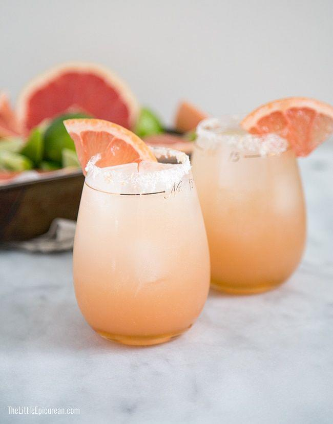 """<p>This tequila-based cocktail is like a margarita, but has a decent dose of honey syrup that makes it just a bit smoother. </p><p>Get the recipe at <a href=""""https://www.thelittleepicurean.com/2014/05/honey-paloma.html"""" rel=""""nofollow noopener"""" target=""""_blank"""" data-ylk=""""slk:The Little Epicurean"""" class=""""link rapid-noclick-resp"""">The Little Epicurean</a>. </p>"""