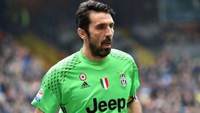 <p><strong>Number of games: 1000</strong></p> <br><p>The legendary Italian stopper shows no signs of slowing down and remains the first choice stopper for Juventus despite his ageing legs. </p> <br><p>Buffon started his 22 year professional career at Parma, before making a record-breaking move to the Old Lady where he has been ever since. </p> <br><p>He also is the record appearance maker for the Italian national team.</p>