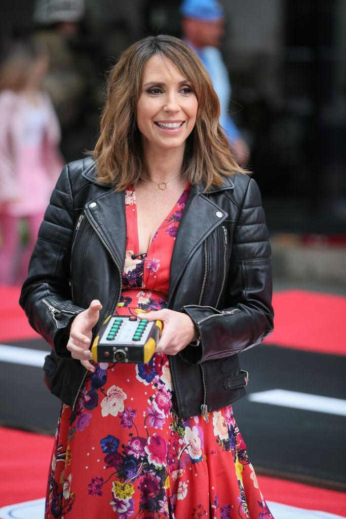 The TV presenter is now a mum of three, pictured in April 2019. (Getty Images)