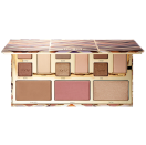 """<p><strong>Tarte</strong></p><p>sephora.com</p><p><strong>$45.00</strong></p><p><a href=""""https://go.redirectingat.com?id=74968X1596630&url=https%3A%2F%2Fwww.sephora.com%2Fproduct%2Fclay-play-face-shaping-palette-ii-P427525&sref=https%3A%2F%2Fwww.seventeen.com%2Fbeauty%2Fg29487979%2Fbest-eyeshadow-makeup-palettes%2F"""" rel=""""nofollow noopener"""" target=""""_blank"""" data-ylk=""""slk:Shop Now"""" class=""""link rapid-noclick-resp"""">Shop Now</a></p><p><a href=""""https://go.redirectingat.com?id=74968X1596630&url=https%3A%2F%2Fwww.sephora.com%2Fproduct%2Fclay-play-face-shaping-palette-ii-P427525&sref=https%3A%2F%2Fwww.seventeen.com%2Fbeauty%2Fg29487979%2Fbest-eyeshadow-makeup-palettes%2F"""" rel=""""nofollow noopener"""" target=""""_blank"""" data-ylk=""""slk:The Clay Play Face Palette"""" class=""""link rapid-noclick-resp"""">The Clay Play Face Palette</a> will add a dusting of shimmer to your lids, cheekbones, and more with its pretty collection of bronzers, highlighters, and eyeshadows. Use this when you want to look just-from-the-beach glowy. </p>"""