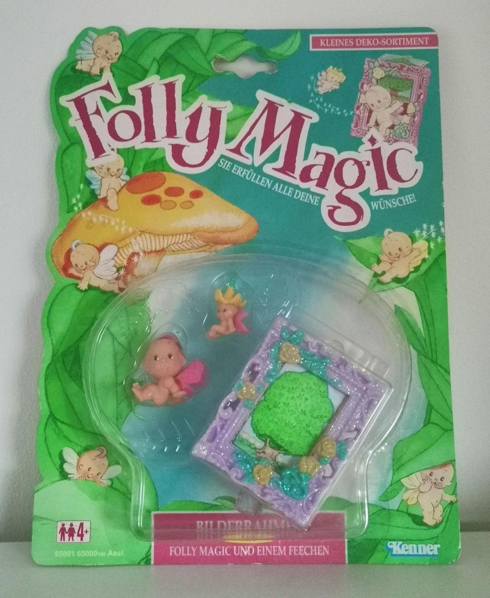 <p><span>1994 Fairy Winkles Folly Magic Kenner Toy</span> ($68)</p>
