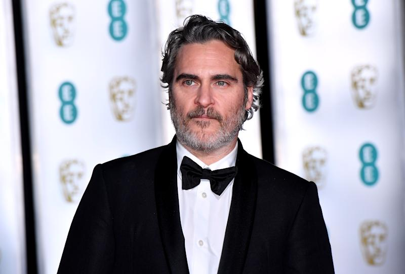 """Joaquin Phoenix called out """"systemic racism"""" during his BAFTAs speech.. (Photo: Matt Crossick/PA Images via Getty Images)"""