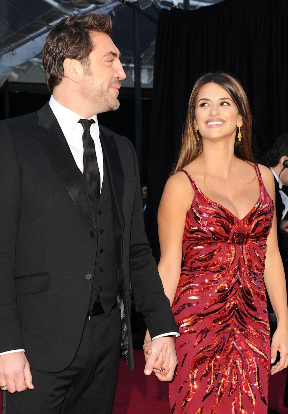 <p>Despite being a famous Hollywood couple, Penelope Cruz and Javier Bardem don't like to flaunt their romance in front of the public and their wedding was no different. The couple wed in an intimate ceremony back in 2010 at a friend's home in the Bahamas. They also are parents to two children together.</p>