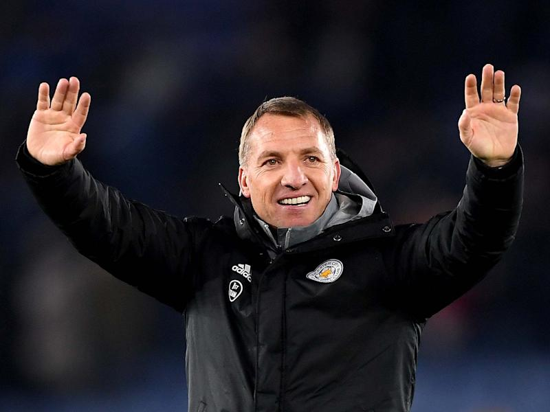 Manager of Leicester City Brendan Rodgers: Getty Images