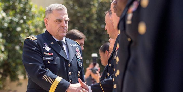US Army Gen. Mark Milley.