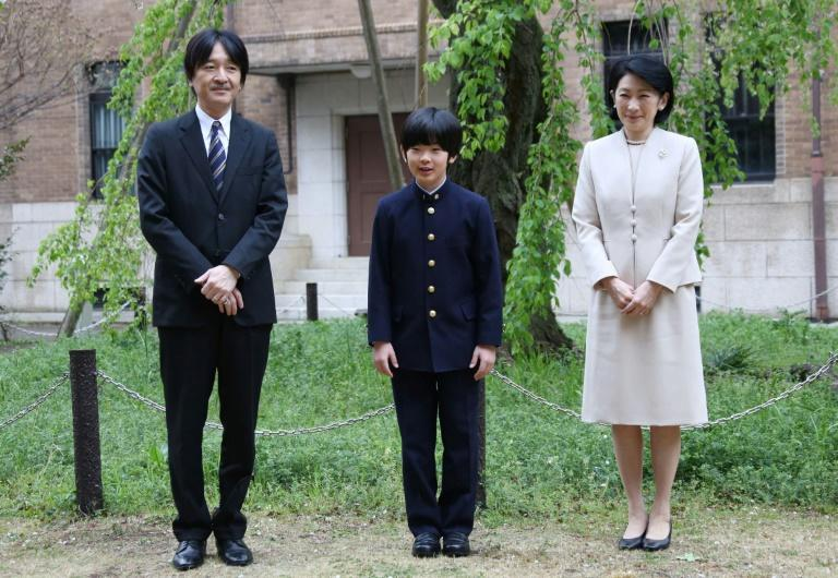 Prince Hisahito is second in line to the throne, after his father, the brother of Emperor Naruhito