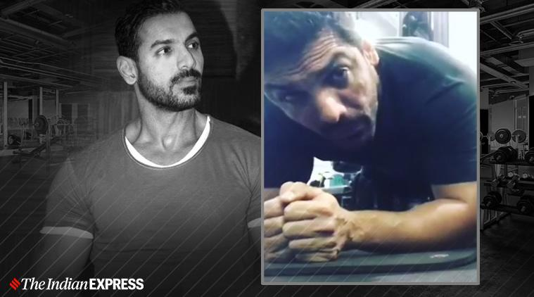 john abraham birthday, john abraham fitness, fitness goals, fitness videos, john abraham birthday, bikes john abraham, john abraham planks, vinod channa, who is john abraham, indianexpress.com, indianexpress, john abraham health, how to do a plank correctly, fitness news, side planks,