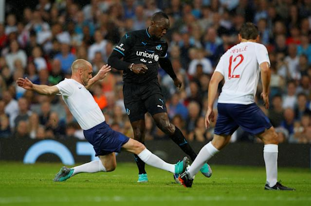 Soccer Football - Soccer Aid 2018 - England v Soccer Aid World XI - Old Trafford, Manchester, Britain - June 10, 2018 World XI's Usain Bolt in action REUTERS/Phil Noble