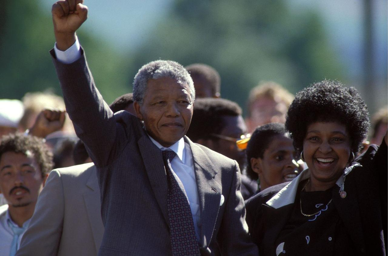 <p>In February of 1990, Nelson Mandela (a lawyer from South Africa) was freed after serving 27 years of prison time due to a 'sabotage' charge. Mandela would later serve as the first black President of South Africa and was instrumental in tackling racism, apartheid and instilling a democratic system in the nation.  </p>