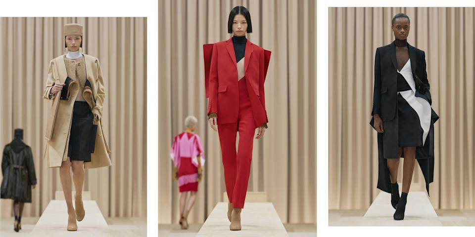 """<p class=""""body-dropcap"""">London is synonymous with youth, color, vibrancy, and innovation in the fashion realm. That energy continues even in the midst of a lockdown—and we have to give a nod to that creative resilience. Here, see the best looks coming out of London Fashion Week now. </p><hr>"""