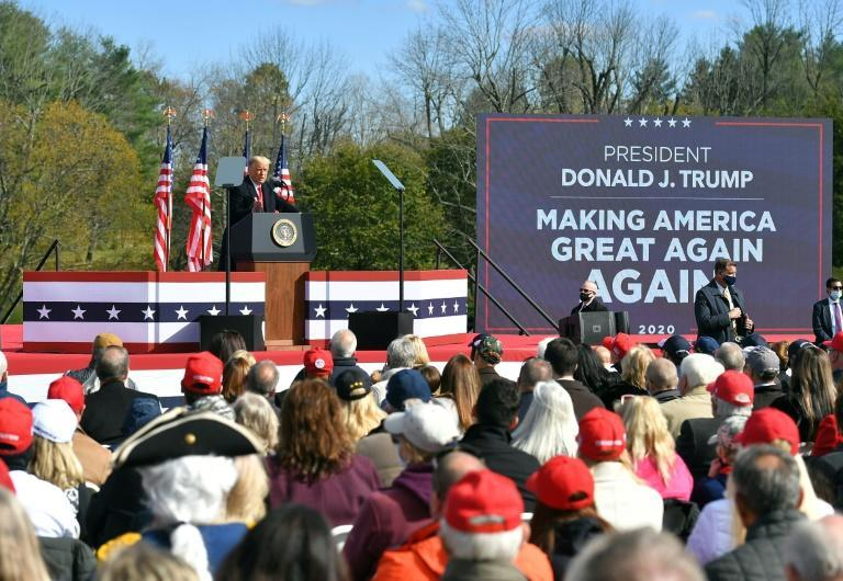 Polls show Trump significantly behind Biden, but the rallies clearly give him hope